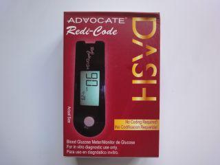 Advocate TD 4276 Redi Code Dash Blood Glucose Meter Blk