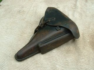 German Luger Pistol Holster 1940