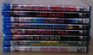 New 8 Blu ray Dvd Lot Bette Midler Woody Allen Sharon Stone Lou