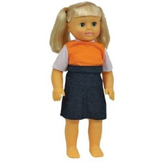 Get Ready Caucasian Girl Doll Anatomically Correct 630 New