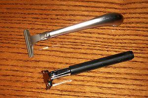 Rare Gillette Atra Plus All Metal Handle Cartridge Safety