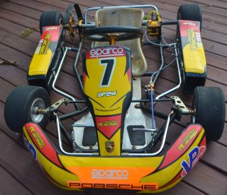 Fittipaldi Racing Go Kart Rolling Chassis 5 12 yrs Old Used for