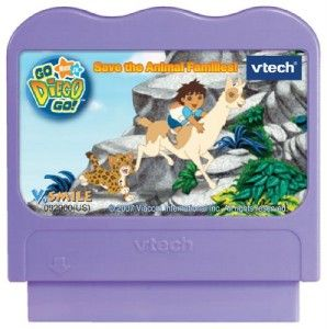 Vtech V Smile Smartridge Game Nick Jr Go Diego Go New