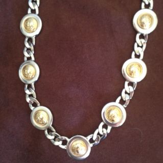Gianni Versace Medusa Chain Necklace