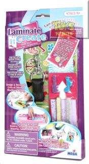 Laminate N Create Girls Craft Kit Refill Pack Set 1