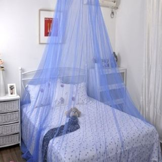 Elegant Round Lace Mosquito Net Bed Canopy Netting J