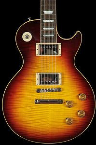 2012 Gibson Les Paul 1959 Custom Shop 59 Historic Gloss Brock Burst