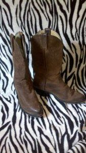 Durango Womens Classic Brown Cowboy Western Boots Size 6