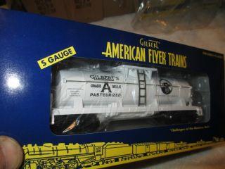 American Flyer TTOS 2005 Gilberts Grade A Milk Tank Car 6 48239