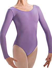 Gilda Marx Lilac Long Sleeved Dance Leotard Child