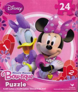 Minnie Mouse Bow tique Puzzle   24 pc   Childrens   NIB Puzzle #2