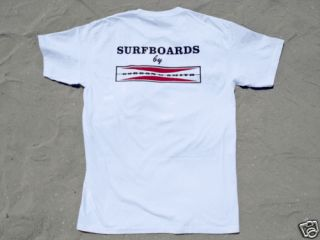 Classic Logo Gordon Smith Surf Skate Board T Shirt