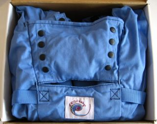 Ergo Baby Carrier Sport Blue Backpack Front Back Hip Belt Authentic