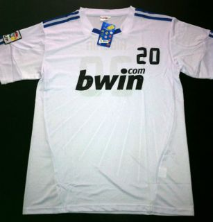 Shirt Men Gonzalo Higuain Real Madrid Jersey L New