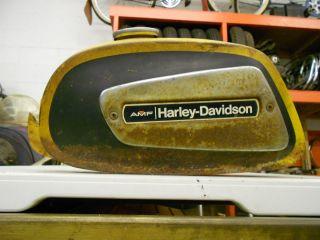Harley Knucklehead Chopper Bobber Sprint Gas Tank