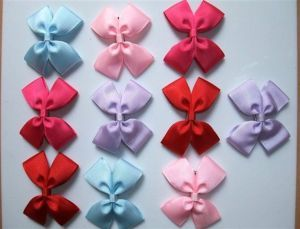 Lot 10 Hair Bow Clip Barrettes Baby Girl Toddler