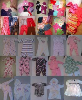 Toddler Girl Clothes Huge Lot 80 Pieces Sizes 12 24 Months
