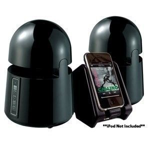 GRACE DIGITAL INDOOR OUTDOOR WIRELESS SPEAKERS W/ TRANSMITTER FOR