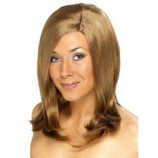 Brand New SMIFFYS Girl Next Door Ladies Honey Blonde Fancy Dress Wig