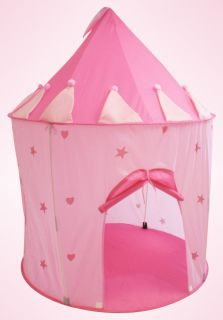 Princess Play House Portable Folding Tent Castle for Girls Kids