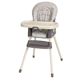 Graco Lot Of 5 Matching Baby High Chair Car Seat