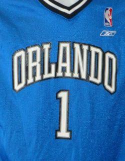 Orlando Magic 1 Tracy McGrady Road Jersey Youth L 14