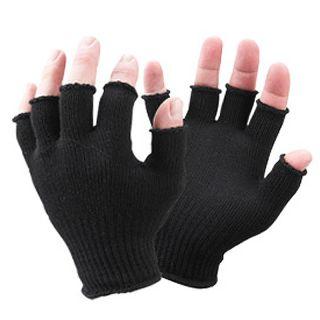 Sealskinz Fingerless Gloves with Merino Wool Black Uni Size