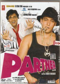 Partner Hindi Movie DVD Salman Khan Govinda Katrina