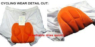 Bike Bicycle Cycling Underwear Under Shorts Short Pants