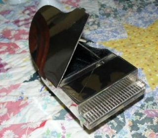 Silver Plated Baby Grand Piano Music Jewelry Box Kennedy Center