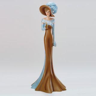Cafe Glace Coffee Connoisseurs Lady Figurine Bradford