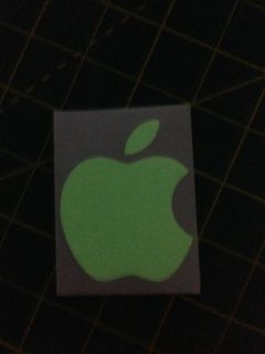 Glow in the Dark Apple Logo Skin Sticker Decal Vinyl Film for iPhone 4