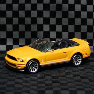 Mustang Shelby GT 500 GT500 Convertible Grabber Orange Yellow