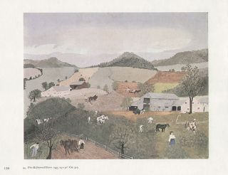 Grandma Moses Print The McDonnell Farm