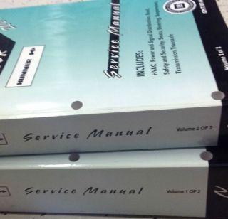 H2 H 2 Service Repair Shop Manual Set Factory Books Huge GM New