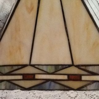 BEAUTIFUL LEADED GLASS LAMP SHADE FOR TABLE LAMP GALLERY DREAM PIECE