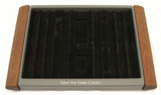 Graf Von Faber Castell Resin Wood Pen Display Tray