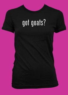 Got Goats Funny Women's T Shirt American Apparel