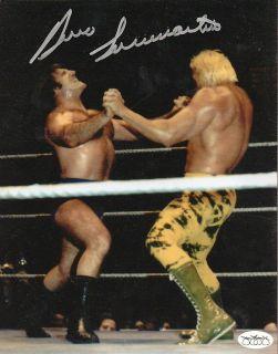 Bruno Sammartino Autograph w Billy Graham WWE WWF JSA