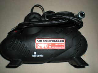Geosonic 12V Portable Air Compressor Pump