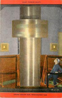 WA Grand Coulee Dam Giant Turbine Shaft Kropp S01561