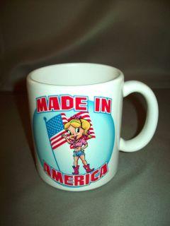 Cartoon Character Honey Dee 11Oz. Mug Ceramic Made in America Product