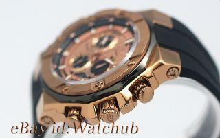 2011 Casio Edifice Gold Label Rose Gold 330ft Men Watch