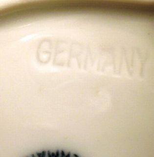 Vintage RS Germany White Gravy Boat Scalloped Edge