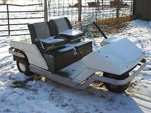 Cushman 3 Wheel Golf Cart Needs Work Indiana