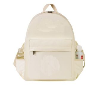 Eco Green School Canvas Backpack Environmentally Frien