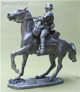 203 Tin 54mm Soldier Cavalry Division Florian Geyer