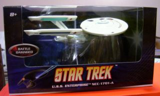 Hot Wheels Star Trek USS Enterprise A Mattel Die Cast