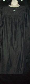 Go Softly 100 Cotton Chambray Patio House Dress Muu Duster Paisley