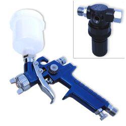 Gravity Feed Air Spray Paint Gun HVLP Mini Pro New